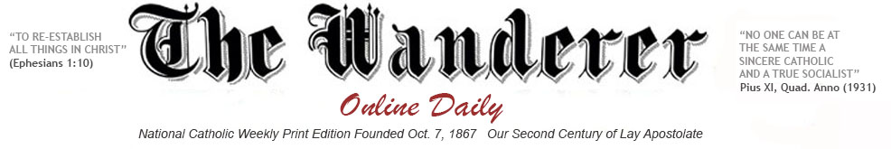 The Wanderer Newspaper Nations Oldest Weekly Catholic Newspaper